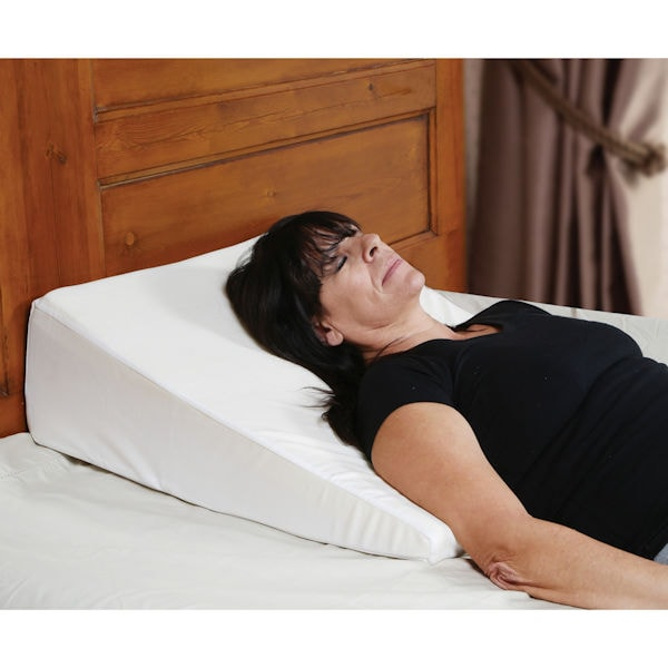 support plus bed wedge pillow memory foam cushion cover small 8 high