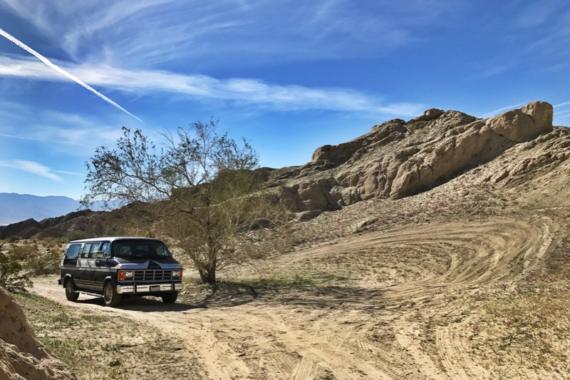 Found Some Shade In The Mecca Hills Wilderness!