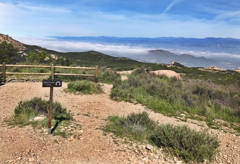 U-Turn On The Backbone Trail