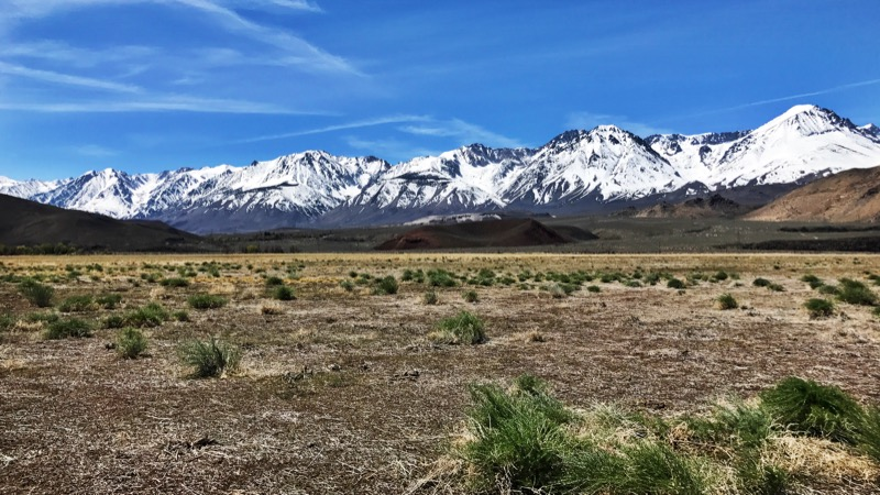 The Sierra Nevada From Hwy 395