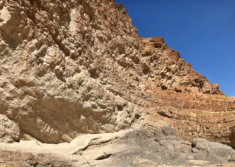 Rock Formations In Mosaic Canyon