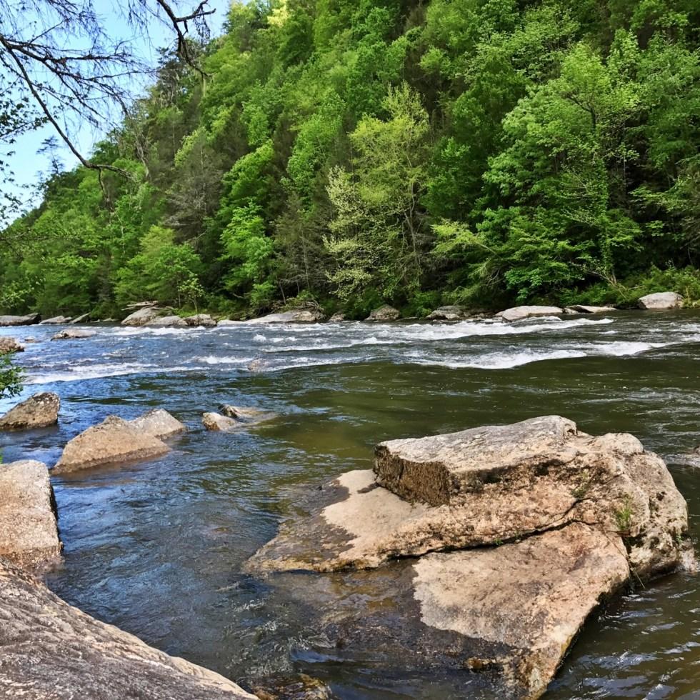 Chattooga River At Long Creek Falls