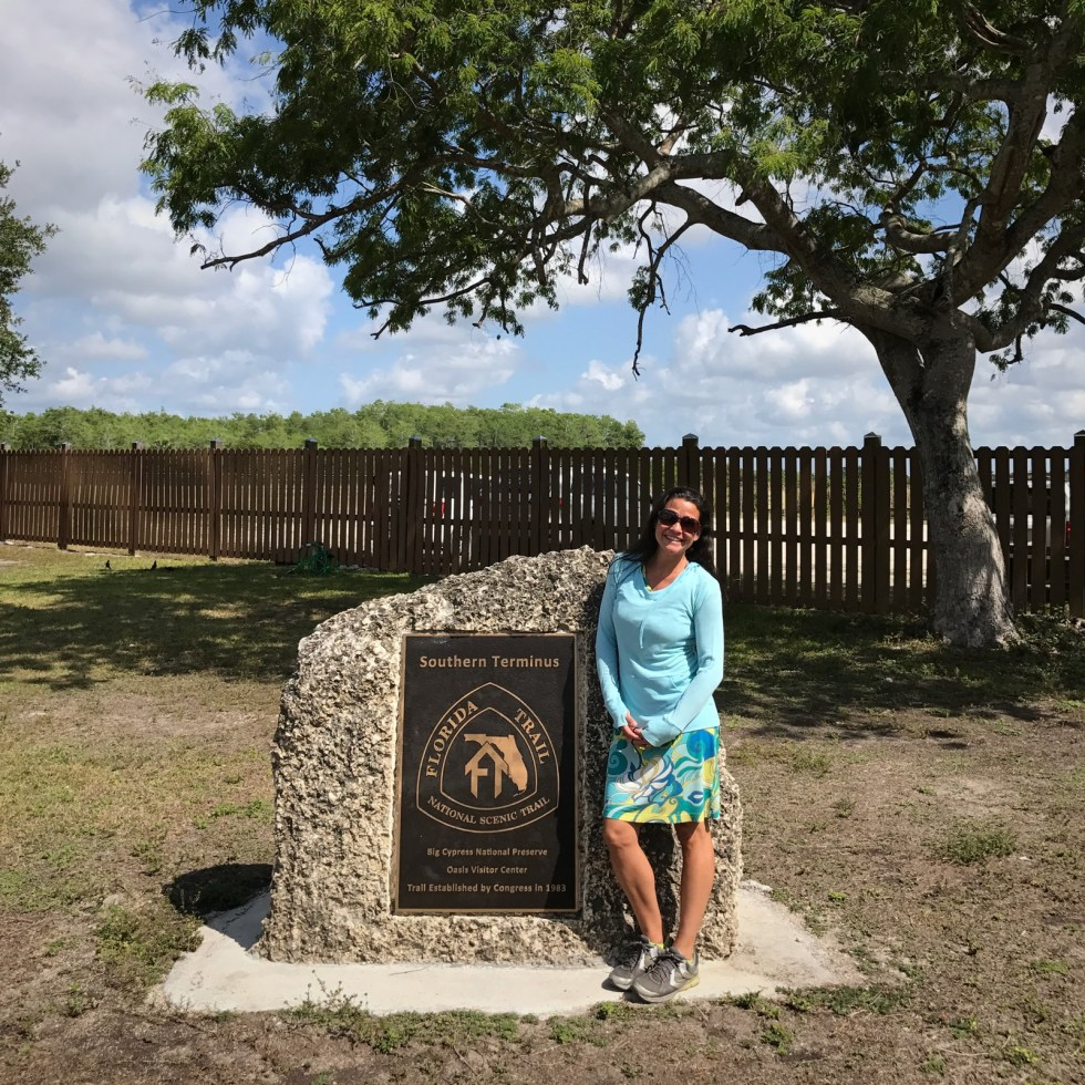 Southern Terminus Of The Florida National Scenic Trail