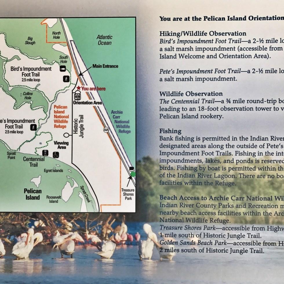 Pelican Island NWR Map