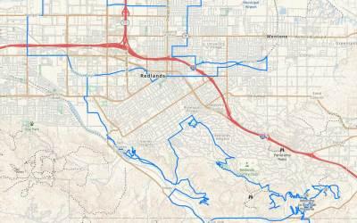 Support Public Lands Founder to 'Thru-Hike' Redlands, California
