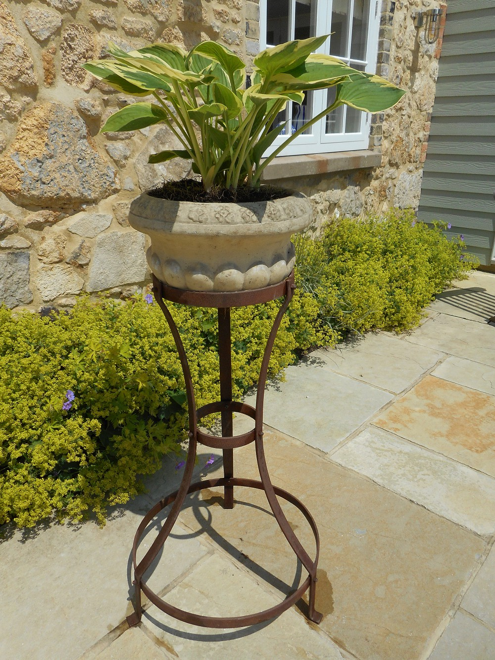 Plant Pot Stands Support 4 Plants Classic French Design