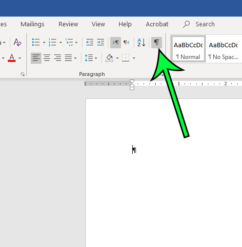 how to hide formatting marks in microsoft word