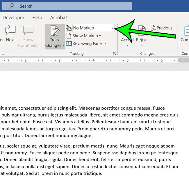 how to hide comments in Word