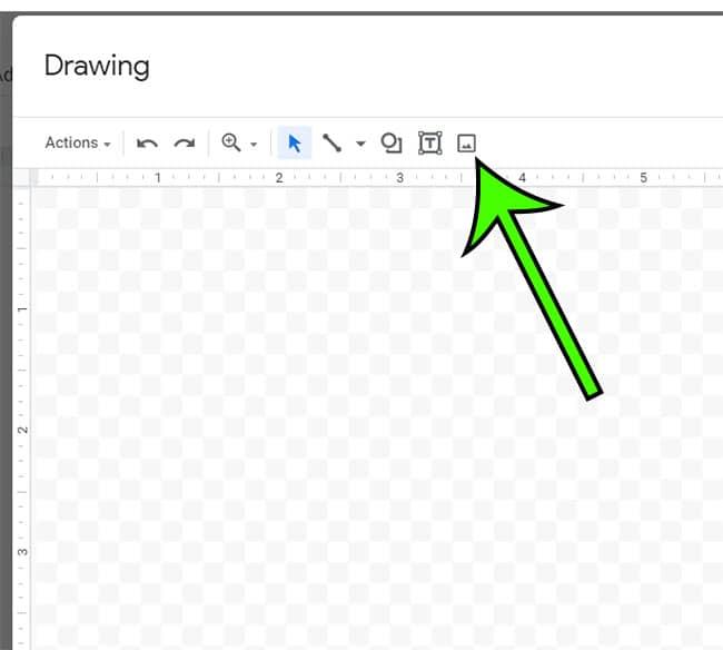 Google Docs set background image