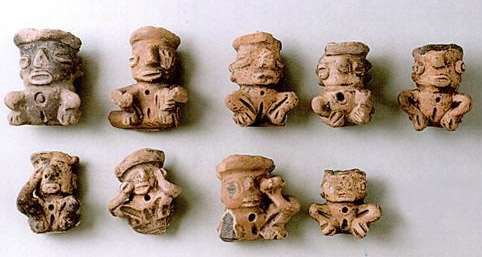 more clay figurines