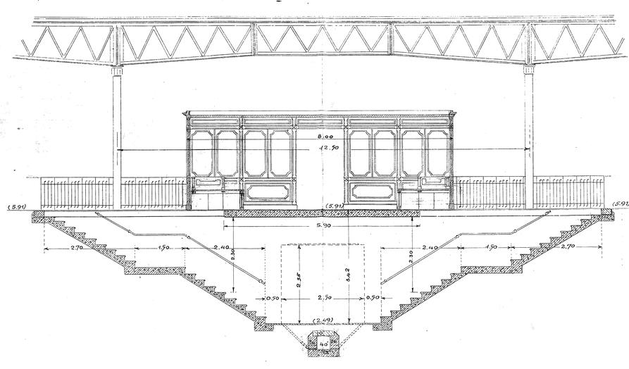 F Stazione di Pra' – Sala di aspetto lato mare