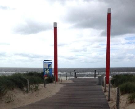 La spiaggia di Maasvlakte