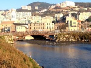 La foce del rio Branega