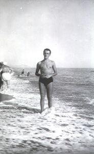 Giorgio Provinciali in una foto degli anni 50