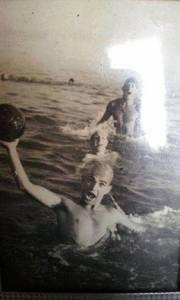 Colino Vattuone in una foto d'epoca