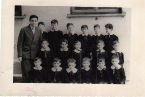 anno scol.co 1951-52 maestro Anselmo Sacco