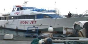 3 Il primo traghetto nave-bus a Pra'