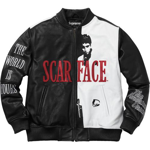 Supreme/Scarface Week 8 Drop List FW'17