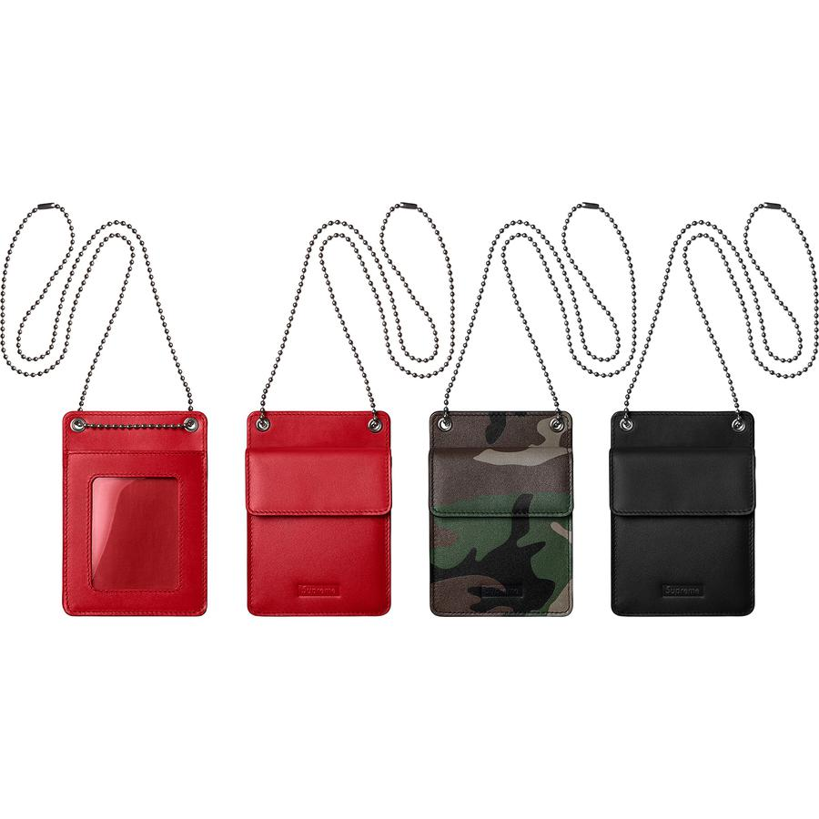 Leather ID Holder + Wallet