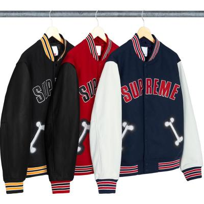 Bone Varsity Jacket