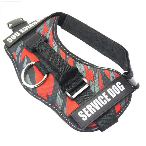 Reflective Service Dog No-Pull Dog Harness