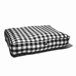 Gingham Checkered Bed
