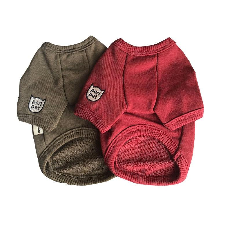 Peri Solid Dog Sweater