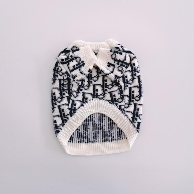 Paw Dior Dog Sweater