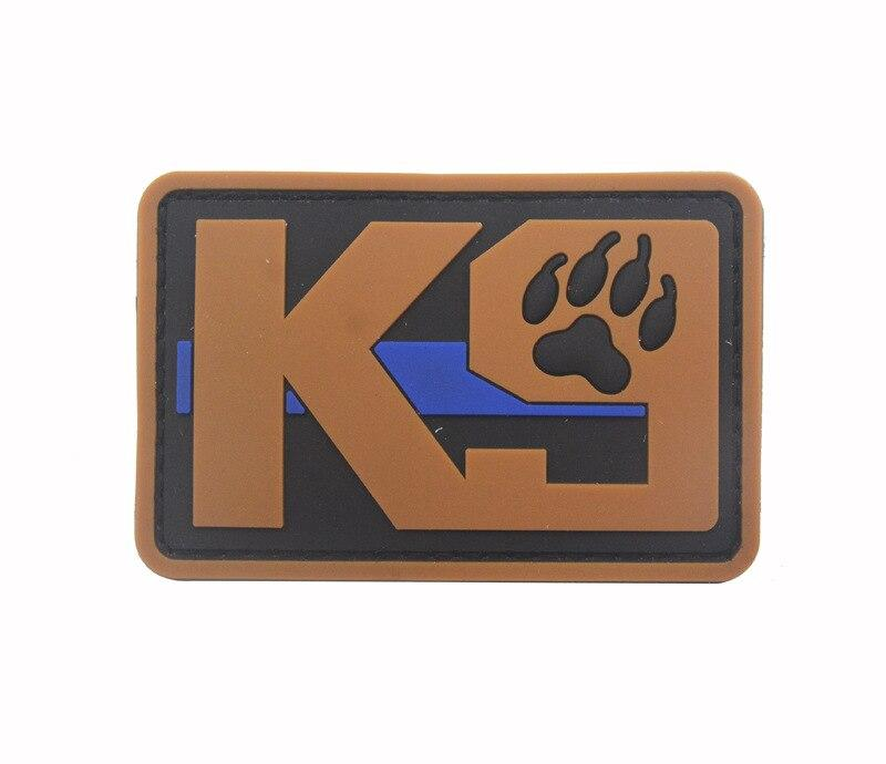 Blue Line Tactical K9 Patches