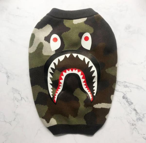Barking Pup Camo Dog Sweater