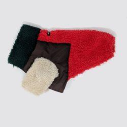 Monkey Fleece Multi-Color Dog Jacket
