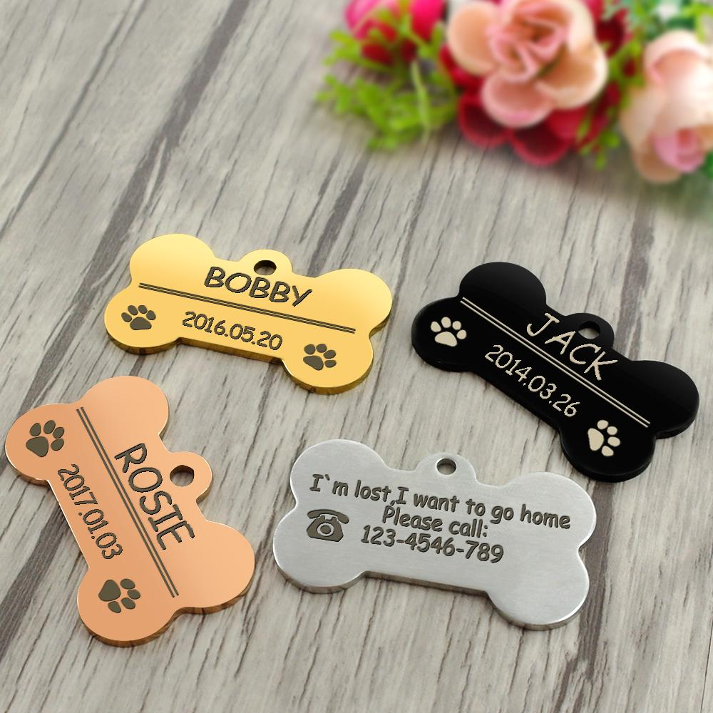 SPS Personalized Dog Tags