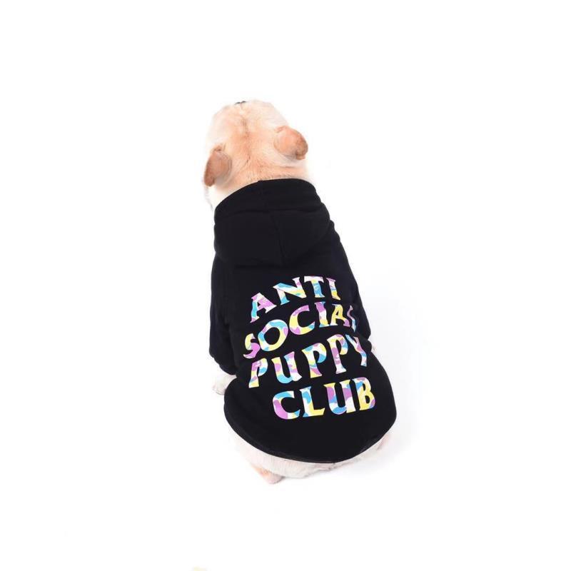 ASPC Multi-Color Dog Hoodie - Supreme Paw Supply