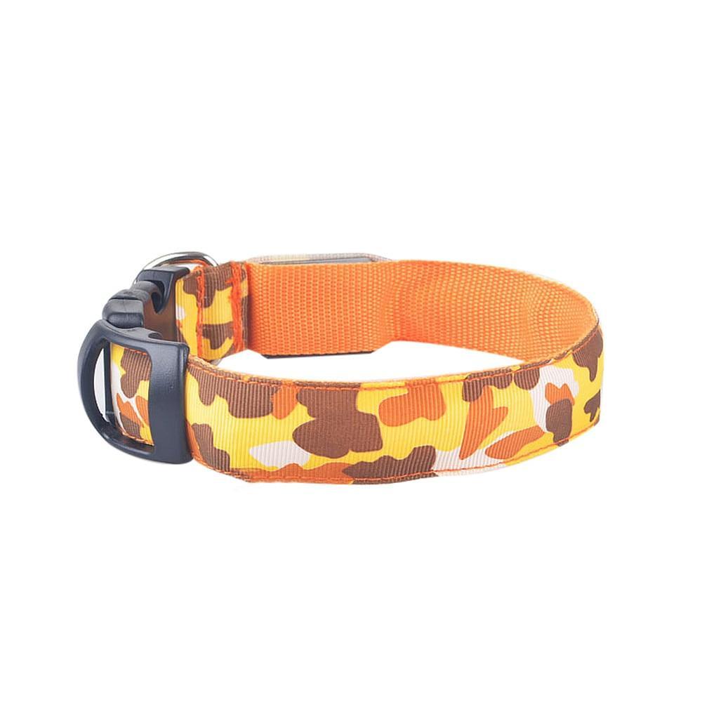 Camouflage LED Dog Safety Collar - Supreme Paw Supply