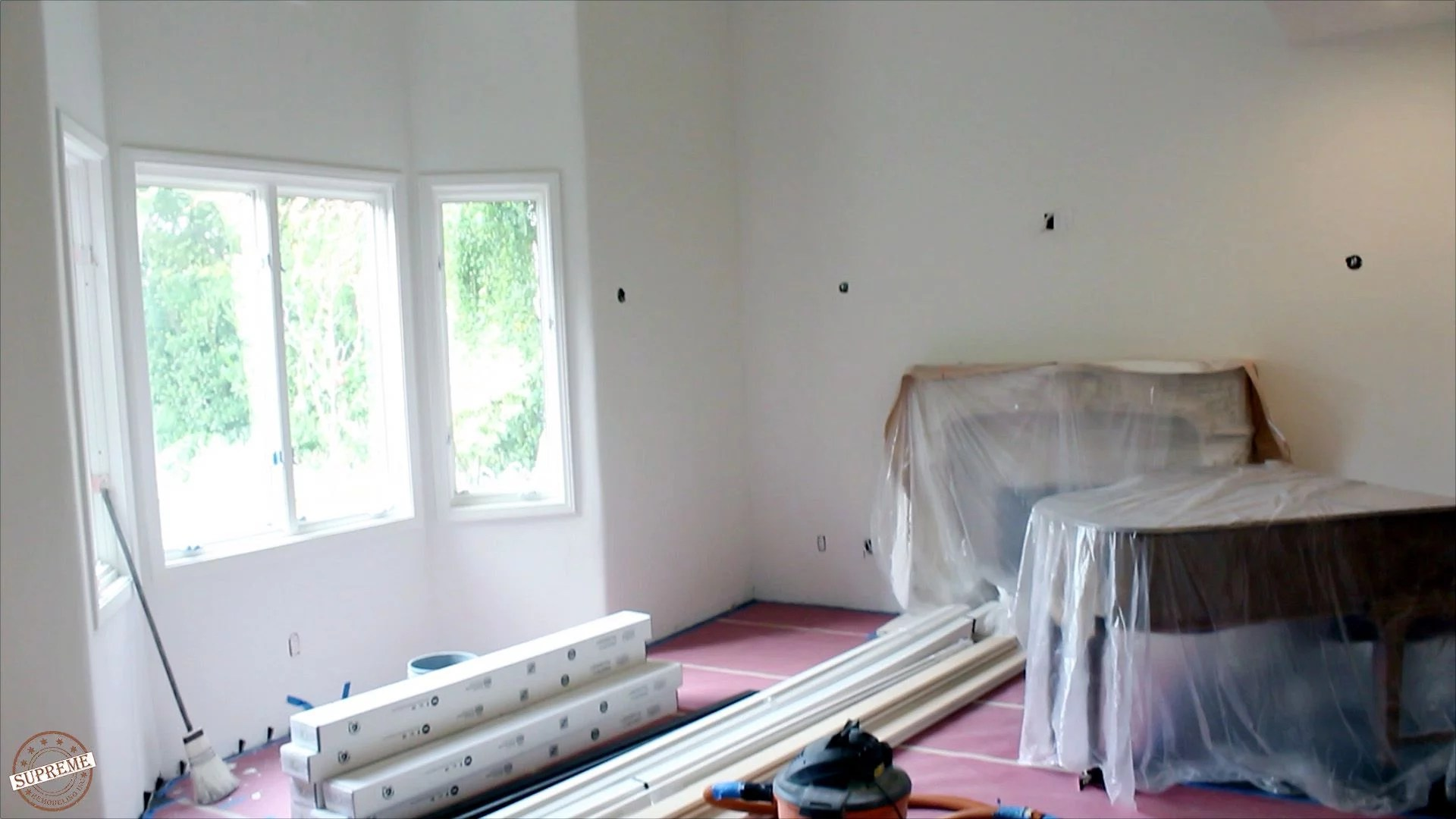 Complete interior remodel