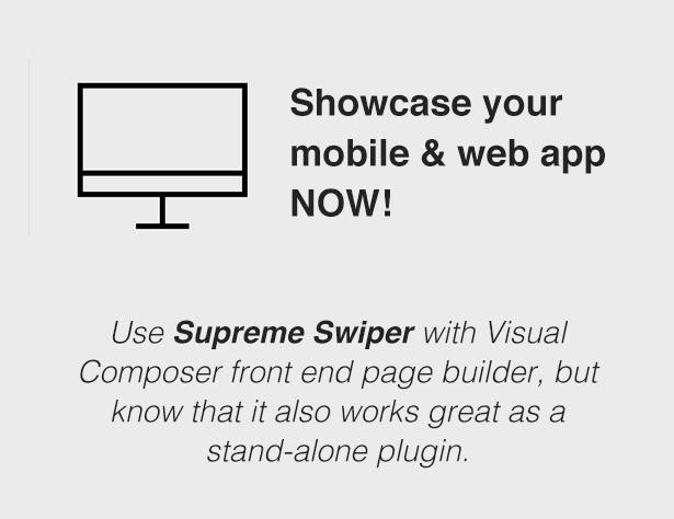 Supreme Swiper | WordPress Plugin 2
