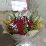 hand bouquet wedding surabaya