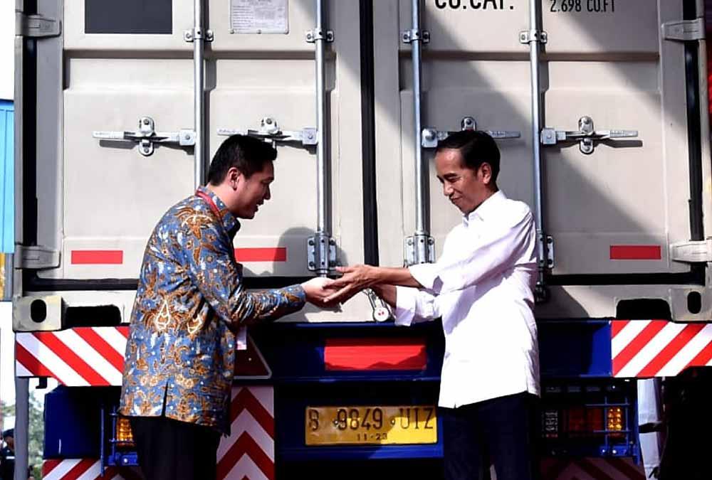 Presiden Bangga Produk Indonesia Rambah 100 Negara