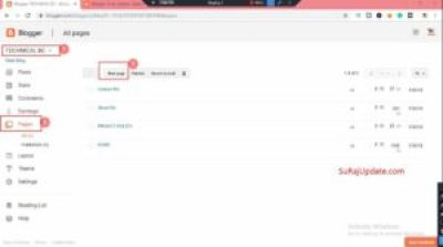Blooger Me Sitemap Page Kaise Banaen (Full Guide)