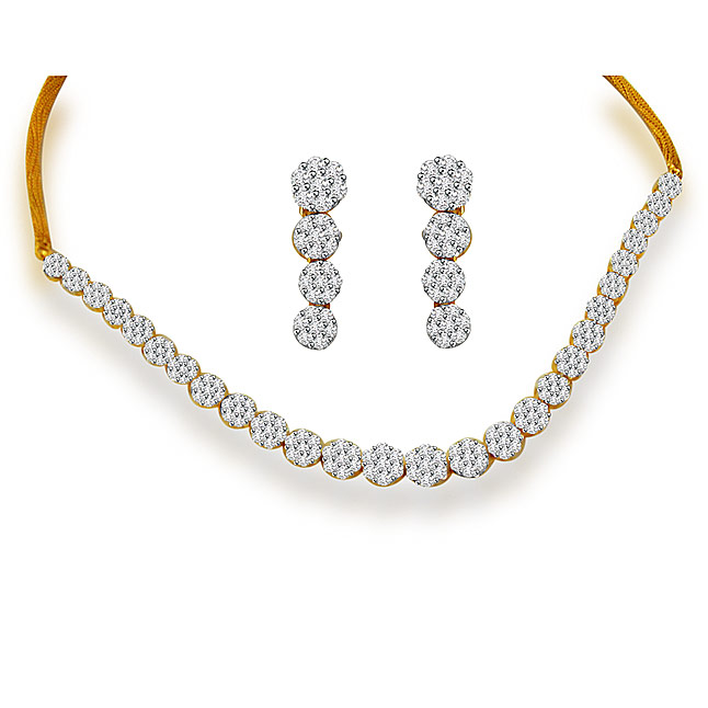 Diamond Necklaces Surat Diamond Jewelry