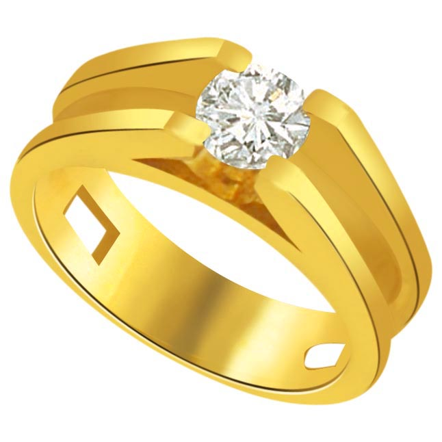 Solitaire Diamond Gold Rings SDR803 Best Prices N Designs