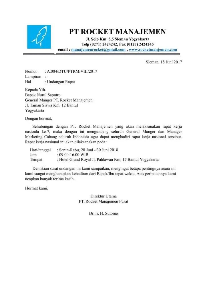 25+ Contoh surat formal dalam bahasa indonesia terbaru yang baik