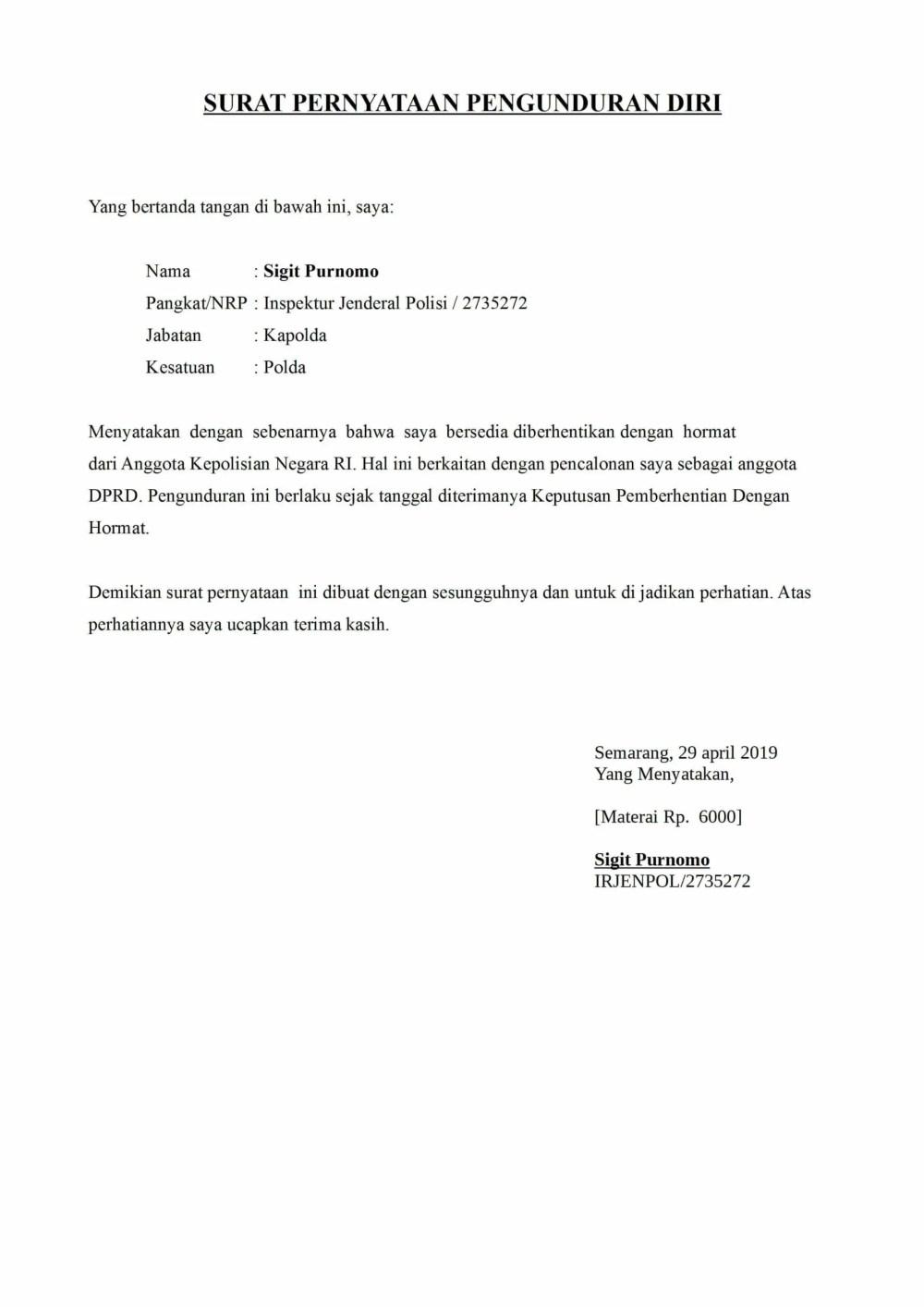 40++ Contoh surat pengunduran diri ekskul pmr terbaru terbaru