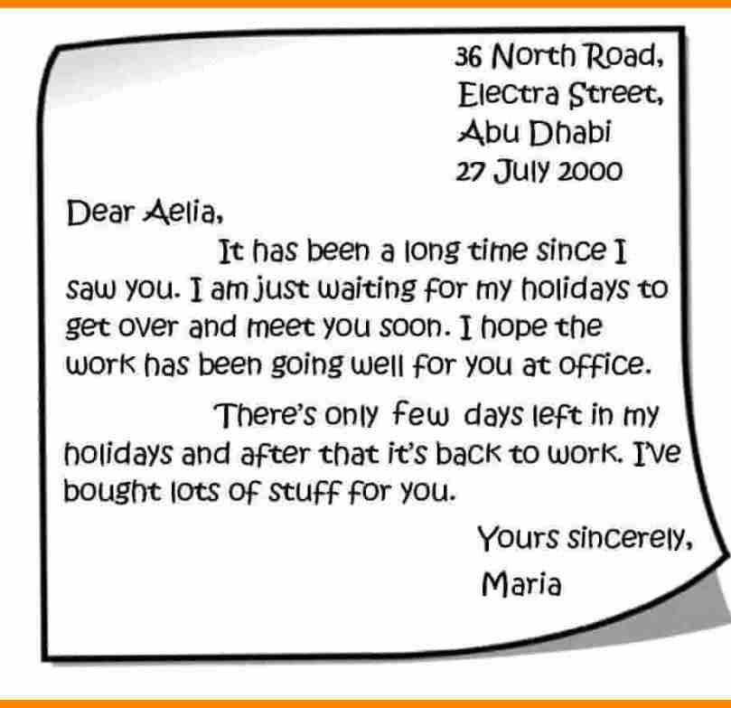 3. Contoh Surat Buat Sahabat Pena Dalam Bahasa Inggris Singkat