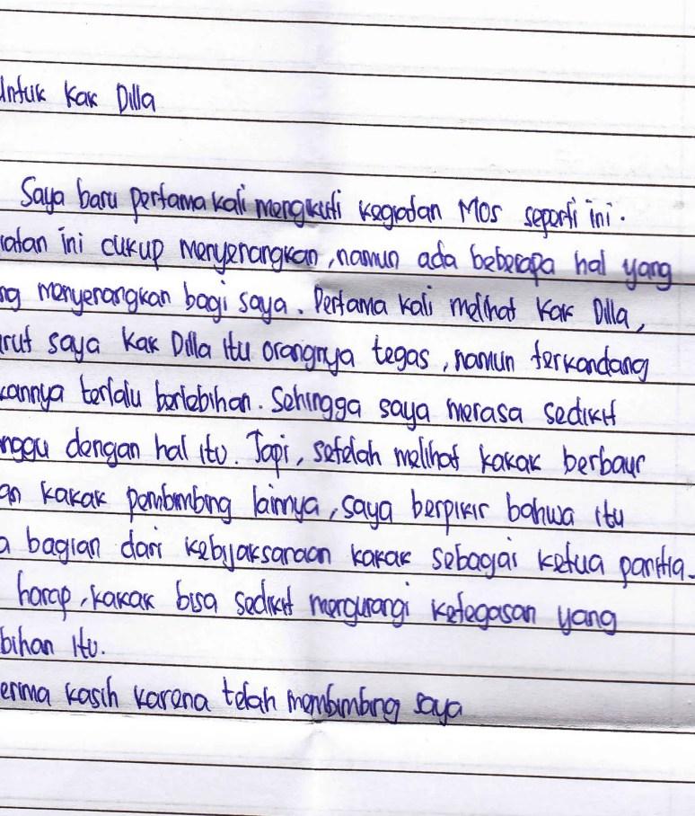 5. Contoh Surat Cinta OSIS Lucu