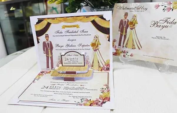 3. Contoh Surat Undangan Pernikahan Islami