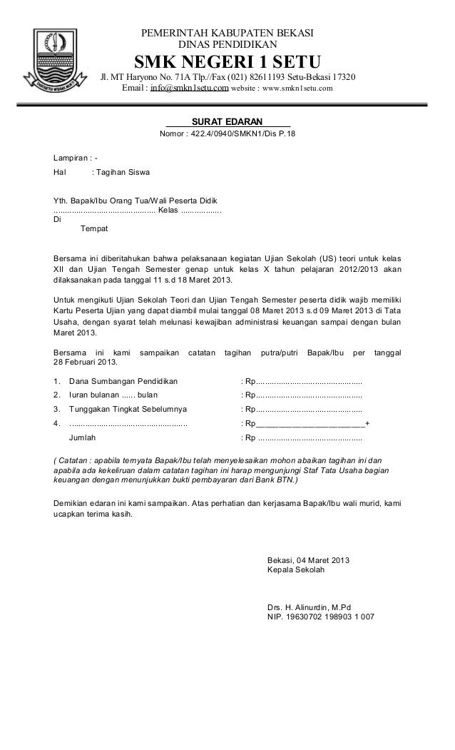 16 Contoh Surat Edaran Dinas Khusus Umum Dan Libur Contoh Surat