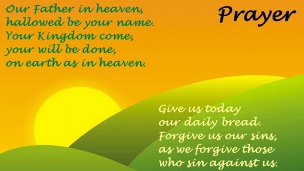Contoh Doa Kristen Dalam Bahasa Inggris