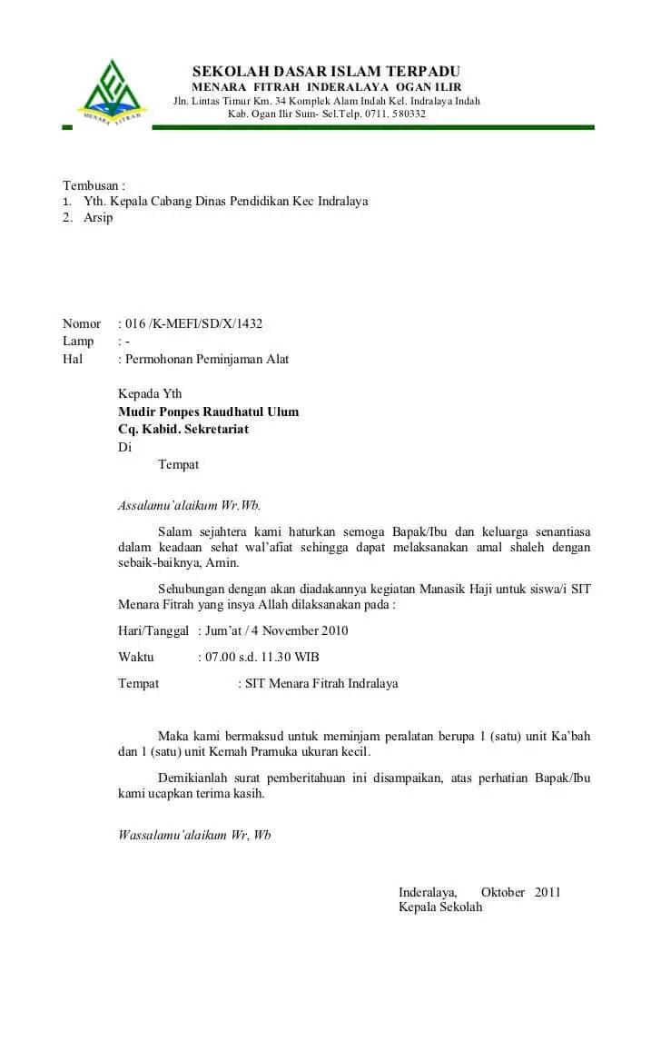 32+ Contoh surat dinas sekolah smp pengambilan raport terbaru terbaik