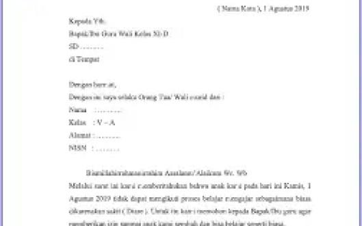 8. Contoh Surat Pembaca Tentang Kantin Sekolah